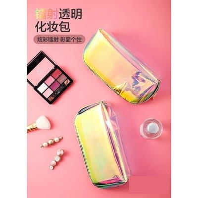 透明防水化妝包隨身化妝袋旅行便攜化妝品大容量收納包