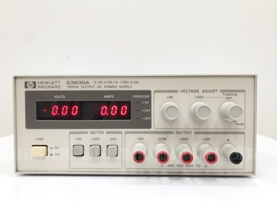 HP E3630A Triple Output DC Power Supply 直流電源供應器