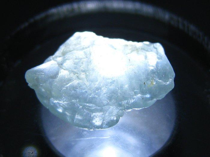 拓帕石 Topaz 天然無燒無處理 自然藍 原礦 標本 礦石 21【Texture & Nobleness 低調與奢華】