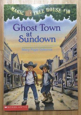 【琥珀書店】《Ghost town at sundown》Magic Tree House#10 神奇樹屋