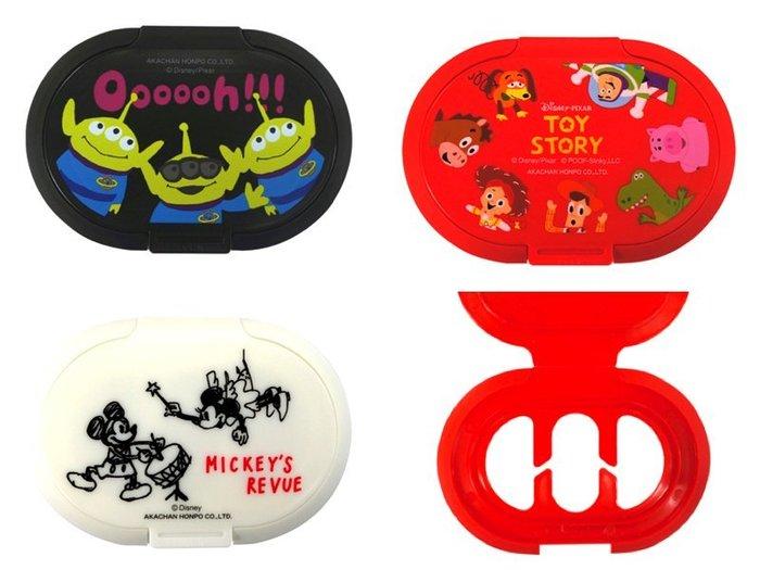 日本 阿卡將 直購 濕紙巾蓋 迪士尼 玩具總動員 米奇 米妮 毛怪 巴斯光年 怪獸電力公司 胡迪 濕紙巾 三眼怪