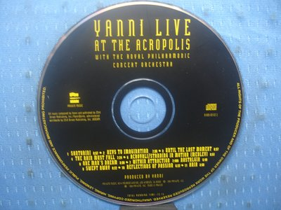 [無殼光碟]IF  Yanni  Live at the Acropolis [Bonus Track]