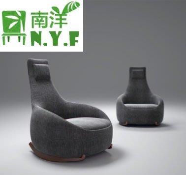 【南洋風休閒傢俱】造型椅系列- 時尚休閒椅  設計師單人沙發  房間休閒椅 JC022