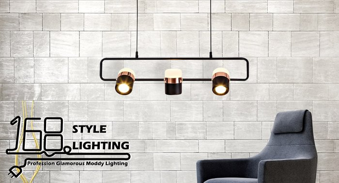 【168 Lighting】時尚閃爍《LED吊燈》(多款)三燈款G 80353-3
