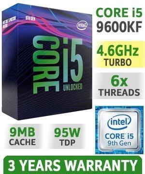 i5 9600kf intel i5 9600kf (全新台灣代理現貨)-保固到2022年7月10日