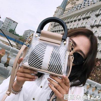 手提包-仙女夏天小包包女2018新款ins超火透明果凍包迷你子母手提斜挎包