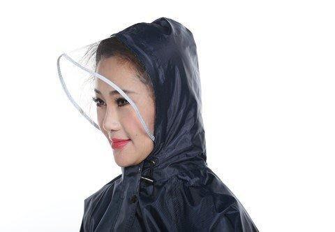 日和生活館 兩件式雨衣水衣正韓國版干活男款加厚清新男士雨衣雨褲套裝防水透氣韓版步行衣服一套創意10-16 S988