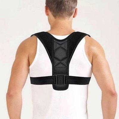 男女可調節防駝背矯正帶/美體塑身帶/收腹挺胸/護椎美背/機能塑身衣