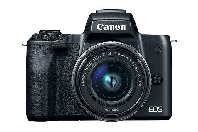 *大元 新北*【現金優惠】CANON EOS M50+15-45mm kit 迷你微單眼 公司貨