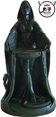 命理 塔罗牌游戏進口Danu Celtic Goddess Statues達努凱爾特女神 神像(訂)1262
