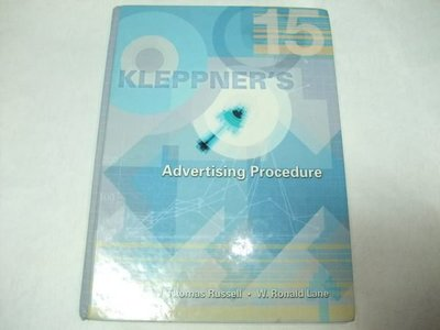 Kleppner's Advertising Procedure / 15版 / J.Thomas Russell