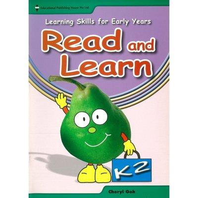 Pre-school Learning Skills for Early Years Read&Learn(K2)寫作
