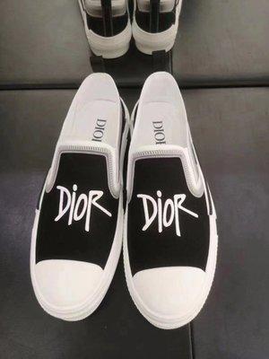 [4real]Dior x Shawn Stussy Slip On