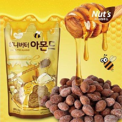 韓國 Tome Gilim 蜂蜜奶油杏仁果 250g【21967】