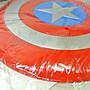 寶貝玩具屋二館☆【加大款美國隊長盾牌飛盤30.5公分】(塑膠彩色飛盤)☆【運動】