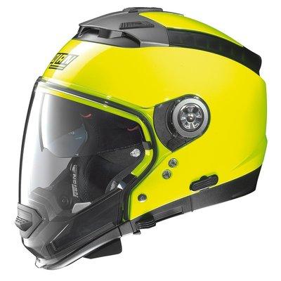 瀧澤部品 義大利Nolan N44 EVO 多功能 下巴可拆 內墨片 安全帽 HI-VISIBILITY#12 黃色