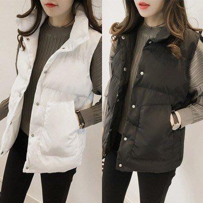女 馬甲 背心 外套 寬鬆 立領 潮流 韓版 C05-GUO902