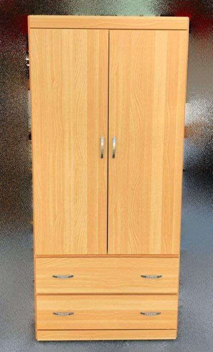 台中二手家具買賣 推薦 西屯樂居中古傢俱館 OH831BD*全新山毛衣櫃 衣櫥*櫥櫃 斗櫃 臥式家具 床組床墊化妝鏡床架