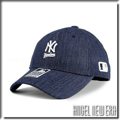 【PD帽饰】【ANGEL NEW ERA 】 MLB Old Fashioned Cap NY 紐約 洋基 丹寧 老帽 獨家/限量