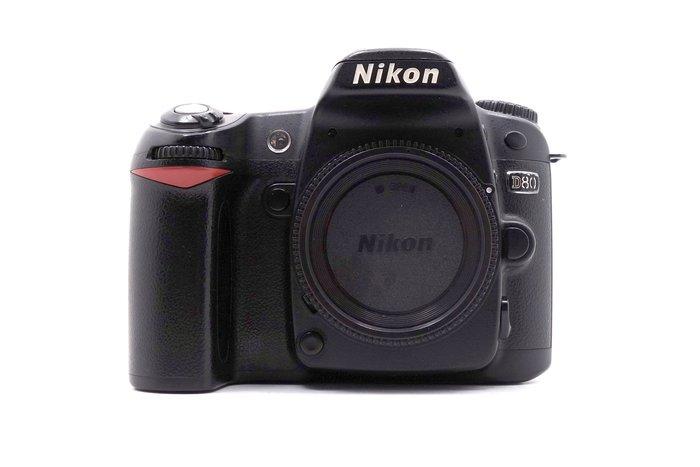【台中青蘋果】Nikon D80 單機身 二手 單眼相機 快門次數約88644 #25338