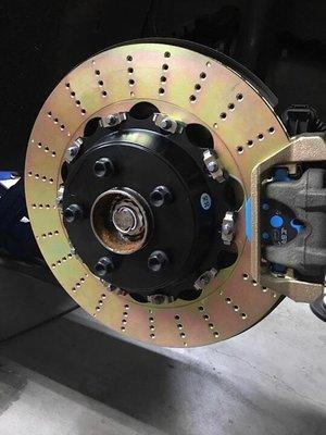 泰山美研社 Y3329 BMW 進口 改裝 加大碟盤 通風碟 浮動碟 F10 F11 F48 X1