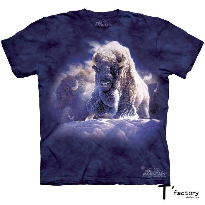 【線上體育】The Mountain 短袖T恤 L號 極地牛