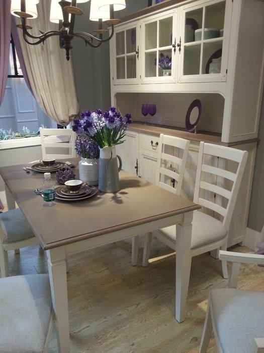 南法鄉村餐桌實木餐桌法式餐桌 大餐桌