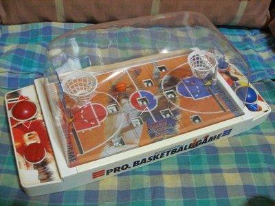 ((懷舊品))日商EPOCH出品@職業籃球對戰遊戲機 A24