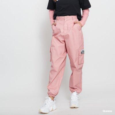 =E.P=ADIDAS OG TRACK PANTS 長褲 粉紅 大口袋 軍事風 縮口 休閒 女款 ED7419