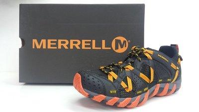 宏亮 含稅附發票 MERRELL梅洛 水陸兩棲鞋 輕量化 溯溪鞋 大尺寸9~10.5 男 J12627