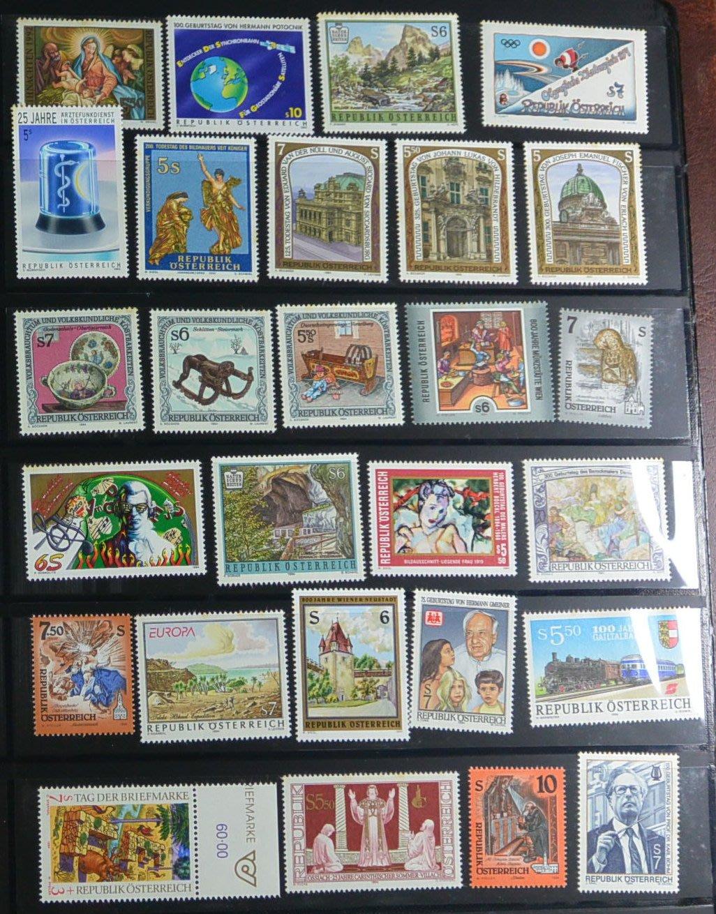 特價商品 外國郵票 奧地利 二頁 005