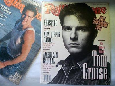 滾石雜誌 1992年5月 Tom Cruise 湯姆克魯斯 封面 野獸男孩 Beastie Boys 75頁