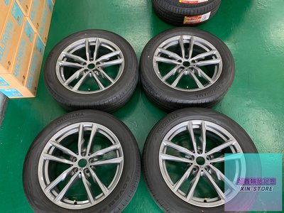 超鑫鋁圈 正 BMW G01 G02 X3 X4 正原廠 698M 19吋鋁圈含胎 G20 G30 F40