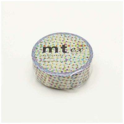 《散步生活雜貨-和紙膠帶》 日本製 mt ex系列 half tone 紙膠帶 15mm 單捲-MTEX1P121