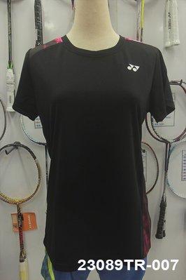 (台同運動活力館) YONEX (YY) 【吸汗速乾】【台灣製】女款 排汗衫 運動上衣 23089TR-007