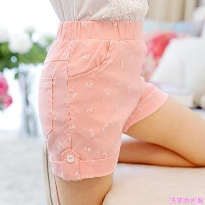女童短褲夏季新款中大童女孩薄款五分熱褲子休閒外穿兒童夏裝