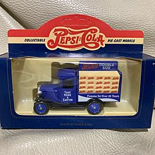 LLEDO 1:50 Days•Gone Pepsi-Cola 1934 Chevrolet Delivery Van (made in England)