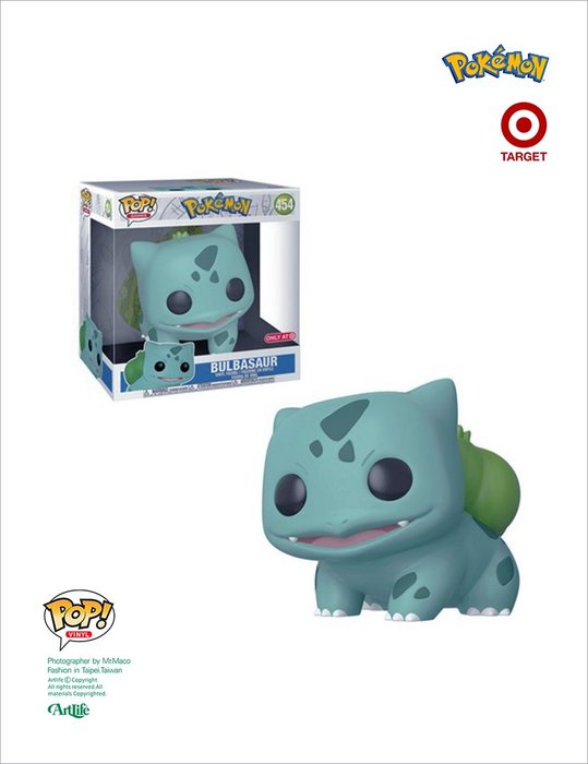ArtLife @ Funko POP! Pokemon Bulbasaur  10吋限定 皮卡丘 寶可夢 妙蛙種子