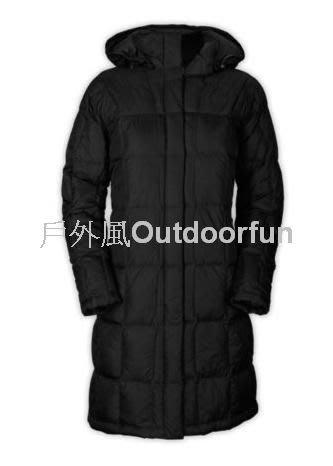 【戶外風】THE NORTH FACE 女 600F 羽絨長大衣 價格:11800