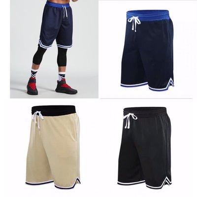 籃球褲 運動短褲 五分褲 休閒褲 NBA NIKE同款 口袋 復古 透氣 排汗 吸濕 健身 訓練 慢跑