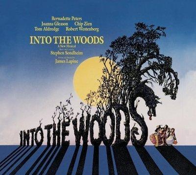 美版全新CD~音樂劇原聲帶 拜訪森林 INTO THE WOODS 原始卡司錄音~魔法黑森林原版音樂劇