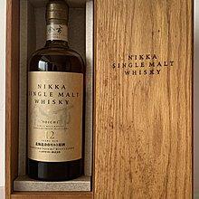 Yoichi 余市 12年原酒 舊版連木盒