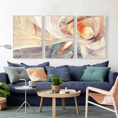 現代簡約抽象畫客廳裝飾畫餐廳臥室壁畫沙發~--晴景街