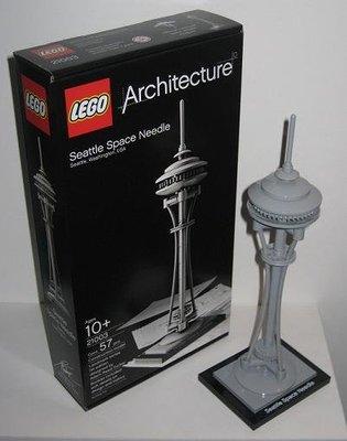 現貨 樂高 LEGO 21003 Architecture 建築系列 西雅圖太空針塔 全新未拆 正版 原廠貨