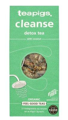 預購二盒組~英國 Teapigs 清新花草茶 Cleanse tea 每盒 15 茶包