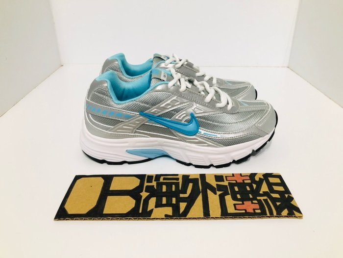 Nike Initiator 白藍 粉銀 白銀 水藍 桃紅勾 老爹 復古 潮流 慢跑 女鞋 394053-001 101