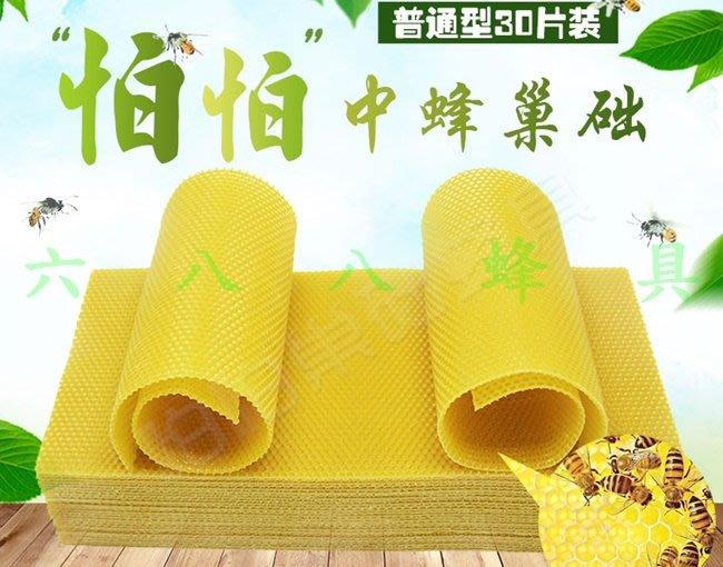 【688蜂具】中蜂/野蜂怕怕巢礎 蜂蠟巢基 蜂蠟巢礎 優質巢礎 巢片 現貨 中蜂 野蜂 土蜂 養蜂工具