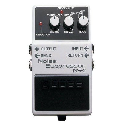 ☆ 唐尼樂器︵☆ Boss NS-2 Noise Suppressor 電吉他/ Bass 雜音抑制效果器(最受歡迎單顆之一)