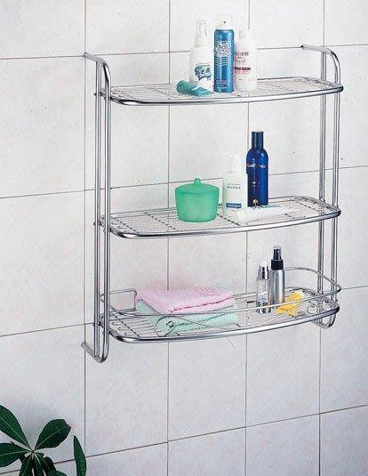☆成志金屬☆S-620-2B不鏽鋼浴室三層置物架*大大空間,滿足您浴室需求,一次全收