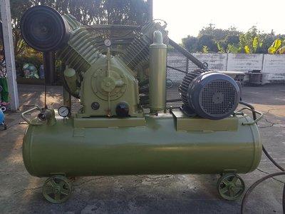 天鵝牌15HP中古高壓14KG半自動三相空壓機